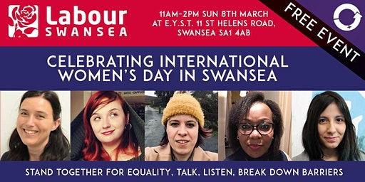 Celebrating International Women's Day in Swansea