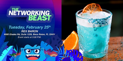 The Networking Beast - Come & Network With Us (Rex Baron) Boca Raton