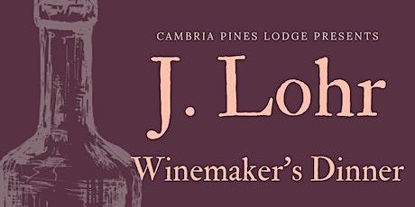 J. Lohr Winemaker Dinner tickets