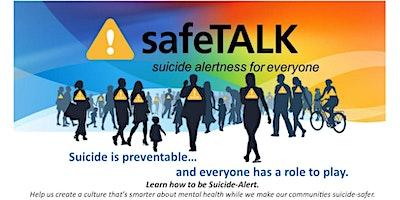 safeTALK - Suicide Alertness  Training Workshop