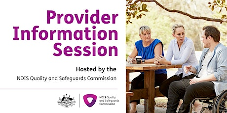 Provider Information Session, Broome tickets