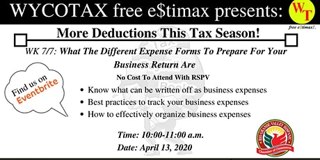 WK 7/7: What The Different Expense Forms To Prepare For Business tickets