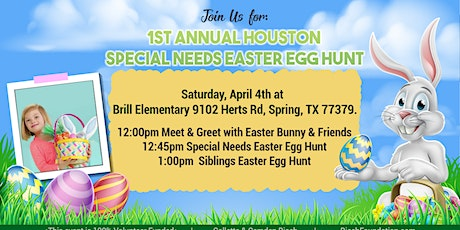 FREE Easter Egg Hunt for Children with Special Needs and their Siblings!  tickets