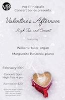 Valentine's Afternoon High Tea & Concert