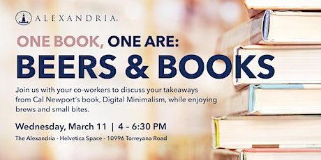 ARE Book Club: Beers & Books Event tickets