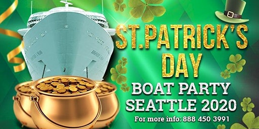 Saint Patrick's Day Boat Party Seattle 2020