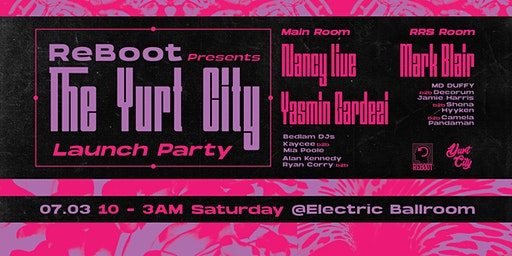 Reboot Presents : The Yurt City launch party