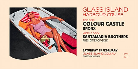 Glass Island ft. Colour Castle - Saturday Sunset Cruise tickets