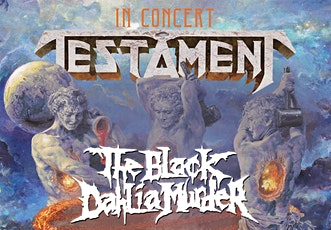 Postponed - Testament With Special Guests tickets