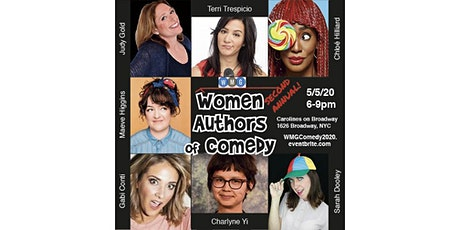Women's Media Group (WMG) FUNdraiser: Women Authors of Comedy Night 2020 tickets