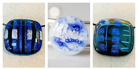 Fused glass Jewellery workshop Saturday 30th May 11-1pm complimentary glass of prosecco  tickets