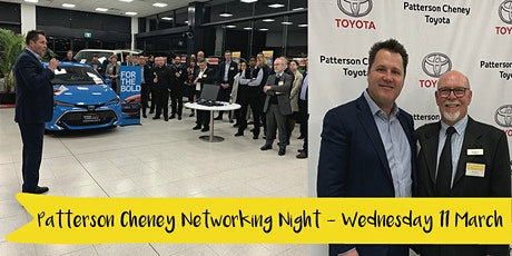 Patterson Cheney Toyota Networking Night tickets