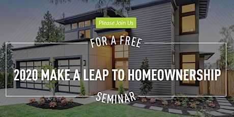 2020 Make A Leap To Homeownership tickets