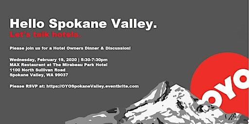 OYO Rooms, Hello Spokane Valley!