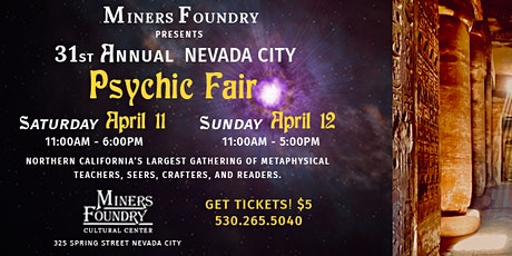 31st Annual Nevada City Psychic Fair tickets