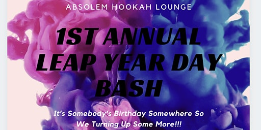 1st Annual Leap Year Day Bash