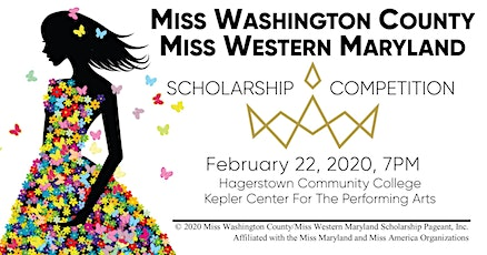 Miss Washington County/Miss Western Maryland Scholarship Competition 2020 tickets