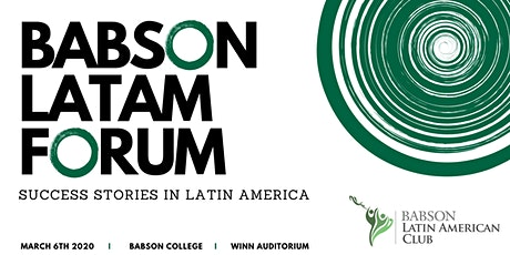 Babson Latin American Forum tickets