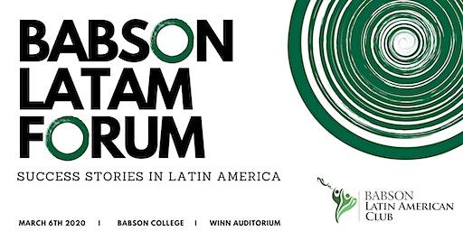 Babson Latin American Forum