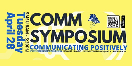 Comm Symposium 2020 and Sports and Entertainment Panel tickets