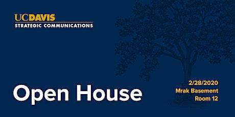 Strategic Communications Open House tickets