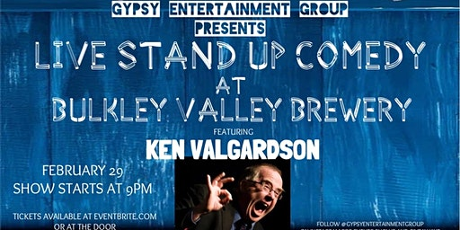 Professional Stand Up Comedy at Bulkley Valley Brewery