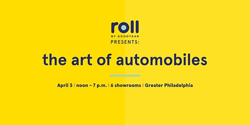 Roll by Goodyear Auto Art Show in Norristown