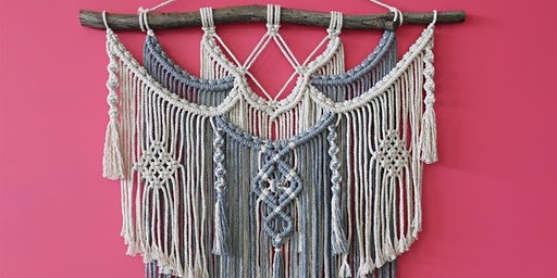 Macramé Workshop (Layering) - intermediate