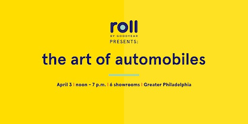 Roll By Goodyear Auto Art Show at Willow Grove