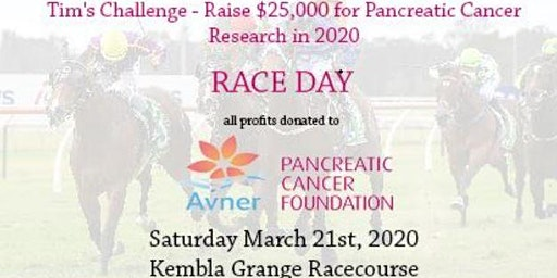 Tim's Challenge  Raising Money for Pancreatic Cancer Research - Race Day