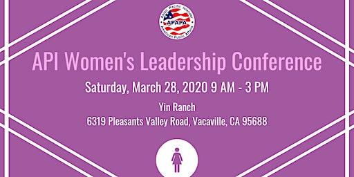 2020 API Women's Leadership Conference