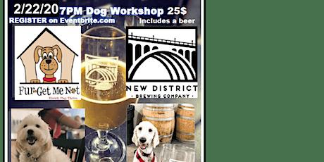 Dog Workshop Plus a Beer tickets
