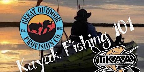 Kayak Fishing 101 tickets