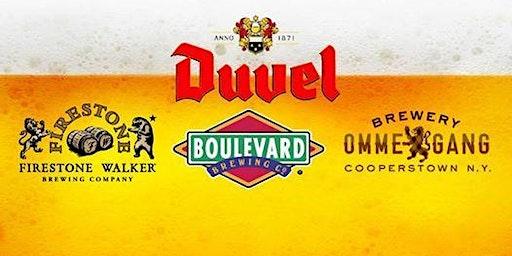Beer Tasting of Duvel Family of Beers