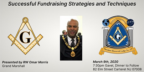 """RW Omar Morris - """"Successful Fundraising Strategies and Techniques"""" tickets"""