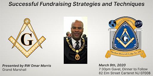 "RW Omar Morris - ""Successful Fundraising Strategies and Techniques"""