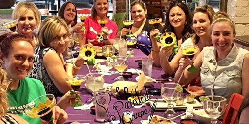 Wine Glass Painting Class at Das Stahl Bierhaus 3/10 @ 6pm
