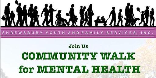Community Walk for Mental Health