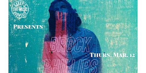 Brock Phillips - Gabby's Live Music Showcase