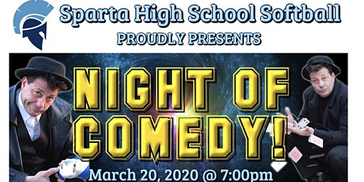 SHS Softball Night of Comedy Fundraiser