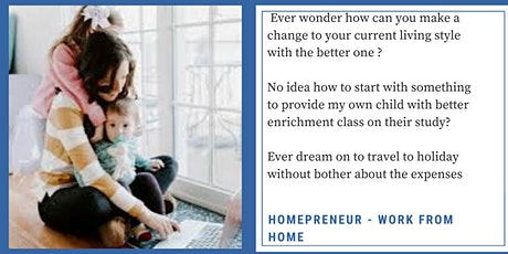 Homepreneur Workshop-Webinar (MYANMAR) tickets