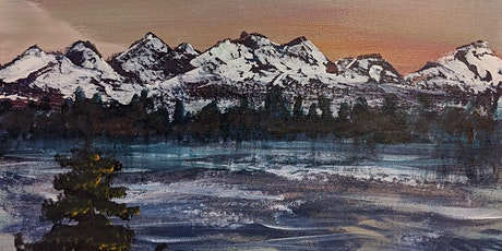 The Olympics - Tranquility Night - Burien's New Paint and Sip tickets