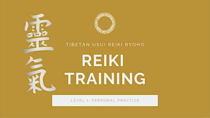 Reiki Training: Level 1 Attunement and Certification tickets