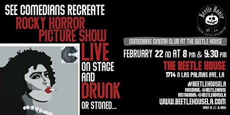 Rocky Horror Picture Show - By Comedian's Cinema Club (8PM Show) tickets