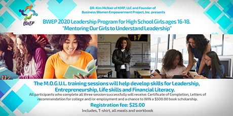 BWEP 2020 Leadership Program for High School Girls tickets