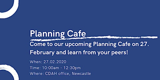 Planning Cafe - Back 2 Basics