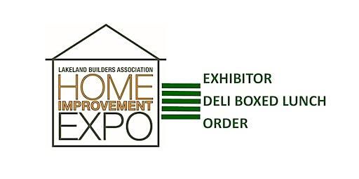 Expo Exhibitor Deli Box Lunch Order