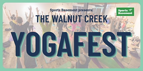 YogaFest Sports Basement, Walnut Creek tickets