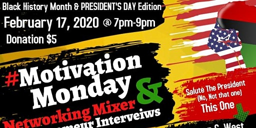 #MotivationMonday Networking Mixer & Entrepreneur Interviews | President of the African American Chamber of Commerce