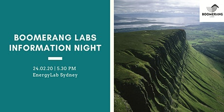 Information Night for Circular Economy Entrepreneurs | by Boomerang Labs tickets